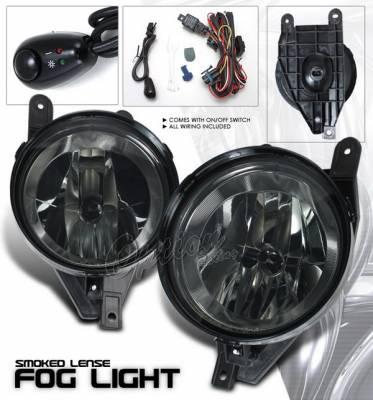 Headlights & Tail Lights - Fog Lights - OptionRacing - Lincoln Navigator Option Racing Fog Light Kit - Smoke - 28-30219
