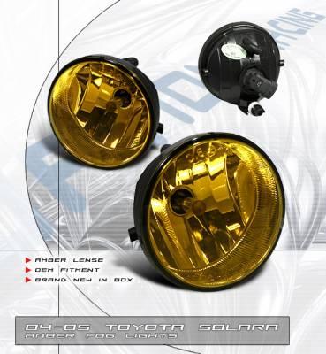 Headlights & Tail Lights - Fog Lights - OptionRacing - Toyota Solara Option Racing Fog Light Kit - 28-44163