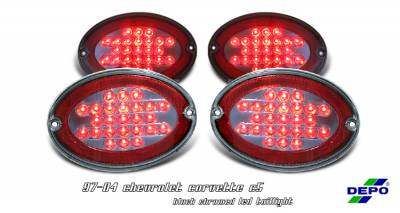 Headlights & Tail Lights - Tail Lights - OptionRacing - Chevrolet Corvette Option Racing Taillight - 335-1909FXBS8