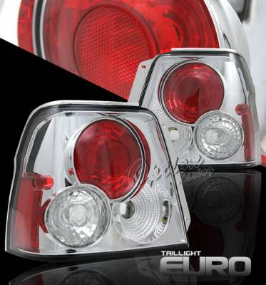 Headlights & Tail Lights - Tail Lights - OptionRacing - Toyota Tercel Option Racing Taillights - Chrome Altezza - Chrome - 40.4168TLR