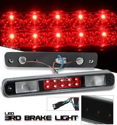 Headlights & Tail Lights - Third Brake Lights - OptionRacing - Chevrolet C10 Option Racing LED Third Brake Light