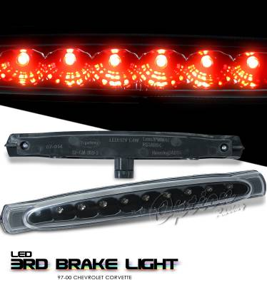 Headlights & Tail Lights - Third Brake Lights - OptionRacing - Chevrolet Corvette Option Racing LED Third Brake Light