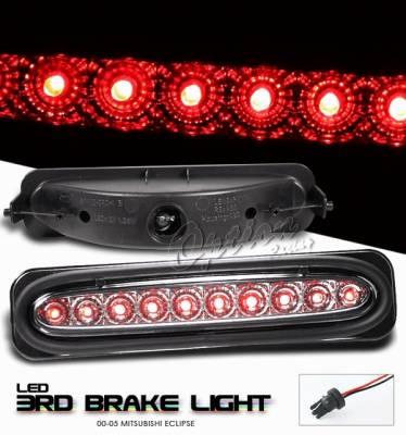 Headlights & Tail Lights - Third Brake Lights - OptionRacing - Mitsubishi Eclipse Option Racing LED Third Brake Light