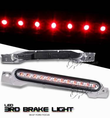 Headlights & Tail Lights - Third Brake Lights - OptionRacing - Ford Focus Option Racing LED Third Brake Light