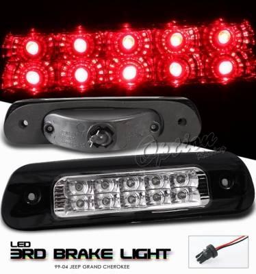 Headlights & Tail Lights - Third Brake Lights - OptionRacing - Jeep Grand Cherokee Option Racing LED Third Brake Light