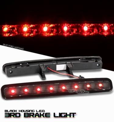 Headlights & Tail Lights - Third Brake Lights - OptionRacing - Ford Mustang Option Racing LED Third Brake Light