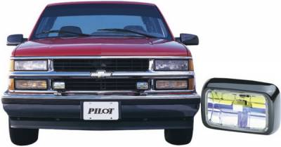 Headlights & Tail Lights - Fog Lights - Pilot - Chevrolet CK Truck Pilot Custom Remote Fog Light Kit - Blue - Pair - PL-126B
