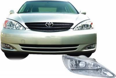 Headlights & Tail Lights - Fog Lights - Pilot - Toyota Camry Pilot OEM Style Fog Light Kit - Clear - Pair - PL-139C