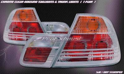 Headlights & Tail Lights - Tail Lights - ProEX - E46 2Dr 00-03 Clear Type Tail