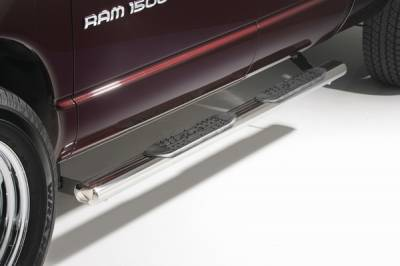 Suv Truck Accessories - Running Boards - ICI - Jeep Wrangler ICI 4 Inch Oval Nerf Bar - OVL72JP