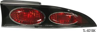 Headlights & Tail Lights - Tail Lights - Pilot - Mitsubishi Eclipse Pilot Black Taillight - Set - TL-401BK