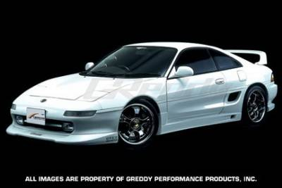 MR2 - Side Skirts - Greddy - Toyota MR2 Greddy Gracer Aero-Style Side Skirts - Fiber Reinforced Plastics - 17010063