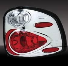 Headlights & Tail Lights - Tail Lights - Pilot - Ford F-Series Pilot Chrome Taillight - Pair - TL-512