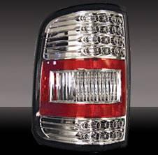 Headlights & Tail Lights - Tail Lights - Pilot - Ford F-Series Pilot Chrome Taillight - Pair - TL-514