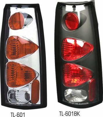 Pilot - Chevrolet Blazer Pilot Chrome Taillight - Pair - TL-601