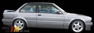3 Series 2Dr - Side Skirts - DTM Fiberwerkz - BMW 3 Series DTM Fiberwerkz Mtech II Style Side Skirts - E30-MTECH-II