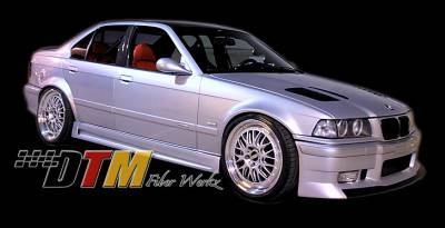 3 Series 2Dr - Side Skirts - DTM Fiberwerkz - BMW 3 Series DTM Fiberwerkz GTR-S Style Side Skirts - E36GTR-SSide