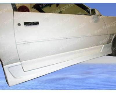 FX Design - Pontiac Firebird FX Design Side Skirts - FX-1058