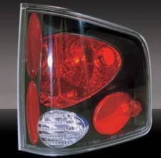 Headlights & Tail Lights - Tail Lights - Pilot - GMC Sierra Pilot Black Taillight - Pair - TL-603BK