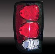 Headlights & Tail Lights - Tail Lights - Pilot - Chevrolet Blazer Pilot Black Taillight - Pair - TL-607BK