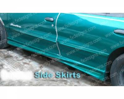 Sunfire - Side Skirts - FX Design - Pontiac Sunfire FX Design Side Skirts - FX-913
