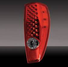 Headlights & Tail Lights - LED Tail Lights - Pilot - GMC Canyon Pilot Red LED Taillight - Pair - TL-611R