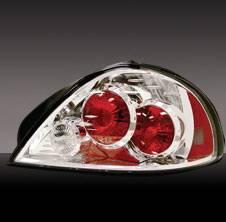 Headlights & Tail Lights - Tail Lights - Pilot - Pontiac Grand Am Pilot Chrome Taillight - Pair - TL-662