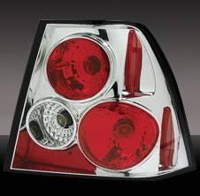 Headlights & Tail Lights - Tail Lights - Pilot - Volkswagen Jetta Pilot Chrome Taillight - Pair - TL-751