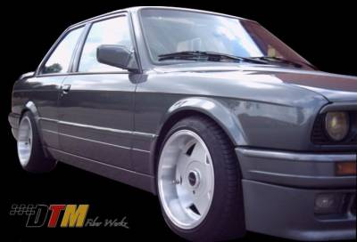 3 Series 2Dr - Side Skirts - DTM Fiberwerkz - BMW 3 Series DTM Fiberwerkz M-Tech II Style Side Skirts