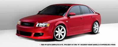 DeCorsa - Audi A4/S4 Side Skirts