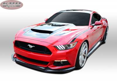 Mustang - Side Skirts - KBD - Ford Mustang KBD Extreme Side Skirts - Pair 37-6015