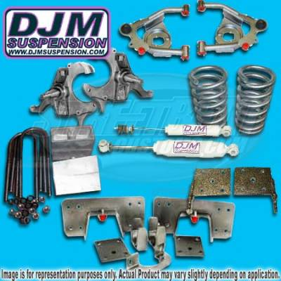 DJM Suspension - Suspension Lowering Kit - K205546