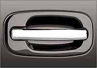 Suv Truck Accessories - Tail Gate Lock - Grippin Billet - Grippin Billet Tailgate Handle OE Smooth Style - Brushed Chrome - Each - 31353