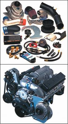 Performance Parts - Superchargers - Powerdyne - 93-97 Camaro Trans Am w LT-1 4.5 psi
