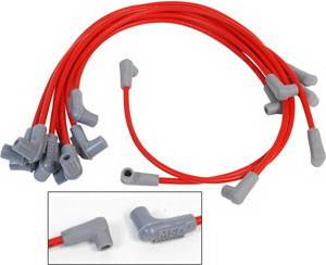 Ignition Systems - Spark Plug Wires - MSD - Chevrolet MSD Ignition Wire Set - Super Conductor - 30479
