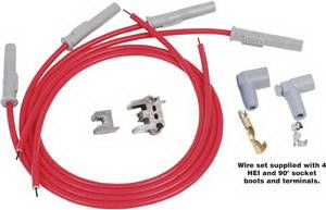 Ignition Systems - Spark Plug Wires - MSD - Chrysler MSD Ignition Wire Set - Super Conductor - 31289