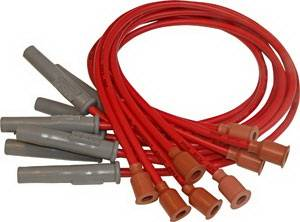 Ignition Systems - Spark Plug Wires - MSD - Chrysler MSD Ignition Wire Set - Super Conductor - Socket - 31309