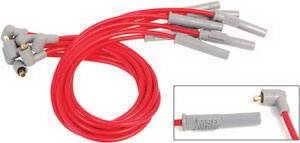 Ignition Systems - Spark Plug Wires - MSD - Ford MSD Ignition Wire Set - Super Conductor - Socket - 31389