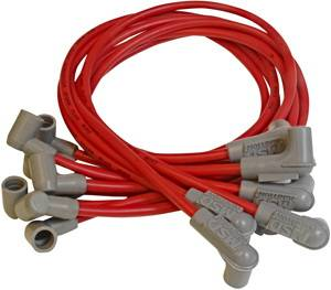 Ignition Systems - Spark Plug Wires - MSD - Chevrolet MSD Ignition Wire Set - Super Conductor - Socket - 31599