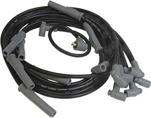 Ignition Systems - Spark Plug Wires - MSD - Chrysler MSD Ignition Wire Set - Black Super Conductor - HEI - 32733