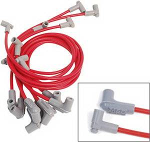 Ignition Systems - Spark Plug Wires - MSD - Pontiac Firebird MSD Ignition Wire Set - Super Conductor - 32799