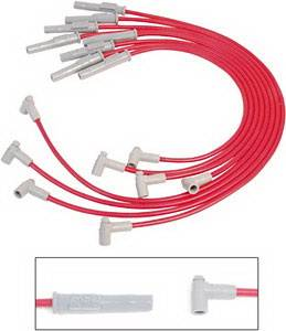 Ignition Systems - Spark Plug Wires - MSD - Ford MSD Ignition Wire Set - Super Conductor - HEI - 35389