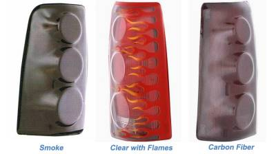 Headlights & Tail Lights - Tail Light Covers - GT Styling - Chevrolet S10 GT Styling Proteeza Taillight Cover