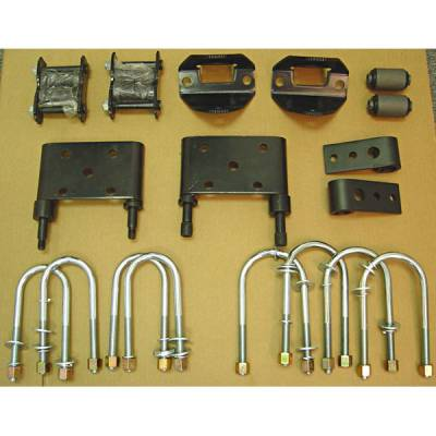 Suspension - Leaf Springs - Omix - Omix Leaf Spring Mount Kit - Front - 18271-13