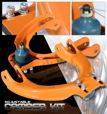 Suspension - Camber Kits - OptionRacing - Acura Integra Option Racing Adjustable Camber Kit