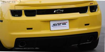 Headlights & Tail Lights - Tail Light Covers - GT Styling - Chevrolet Camaro GT Styling Rear Blackout Panel - GT4170