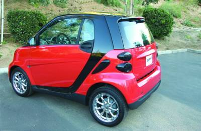 Headlights & Tail Lights - Tail Light Covers - GT Styling - Smart ForTwo GT Styling Rear Taillight Blackout - Small - GT4810