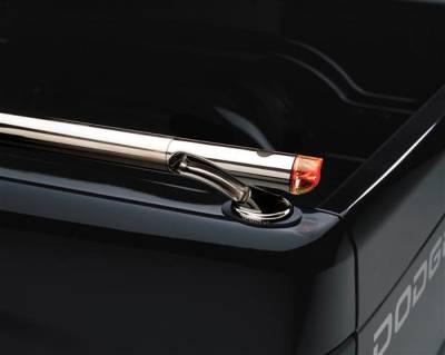 Suv Truck Accessories - Bed Rails - Putco - Dodge Dakota Putco Rocket Locker Side Rails - 39834