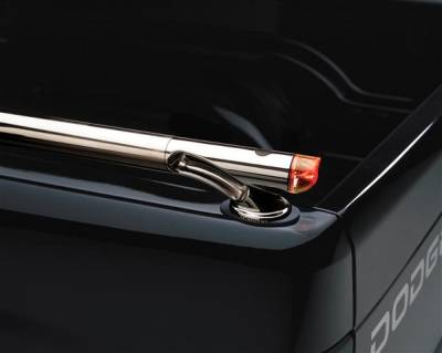 Suv Truck Accessories - Bed Rails - Putco - Dodge Dakota Putco Rocket Locker Side Rails - 39839