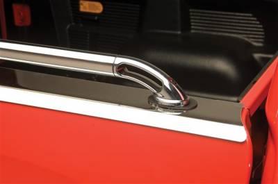 SUV Truck Accessories - Bed Rails - Putco - Isuzu Pickup Putco Boss Locker Side Rails - 49814